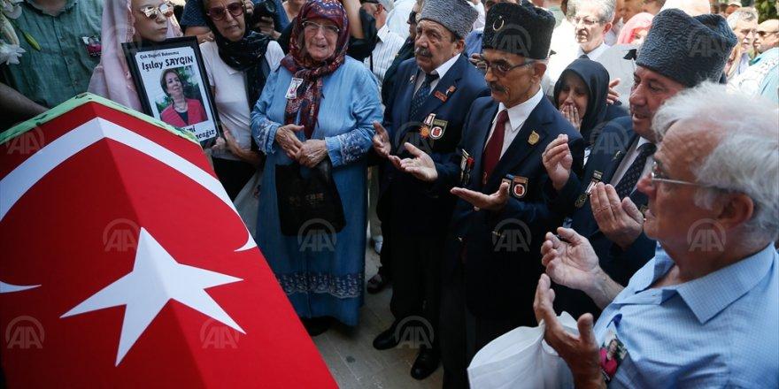 IŞILAY SAYGIN SON YOLCULUĞUNA UĞURLANDI