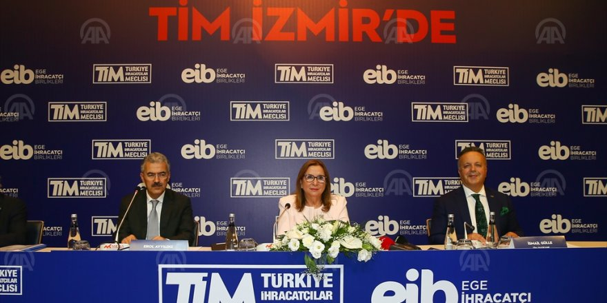 TİCARET BAKANI RUHSAR PEKCAN İZMİR'DE