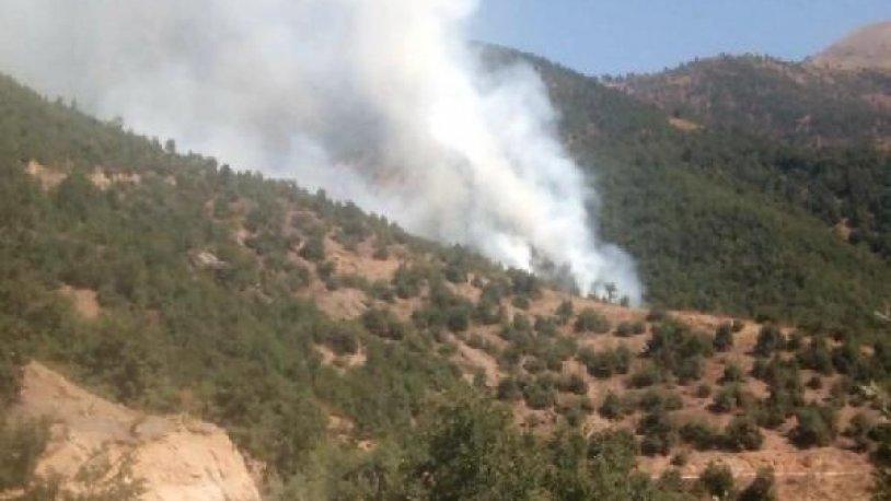 Kirazlı'daki orman yangını kontrol altına alındı