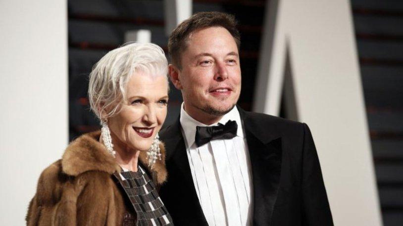 Elon Musk'ın annesi Maye Musk, tatil için Bodrum'da..