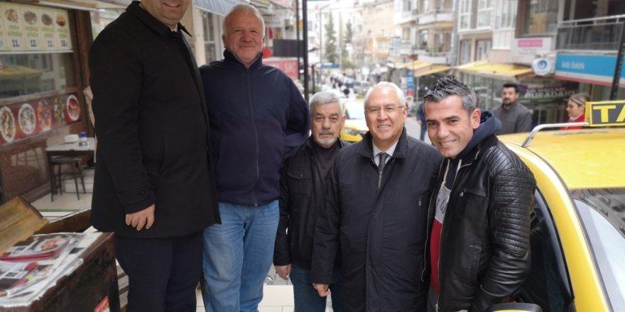 CHP'Lİ SELVİTOPU HALKA PROJELERİNİ ANLATIYOR