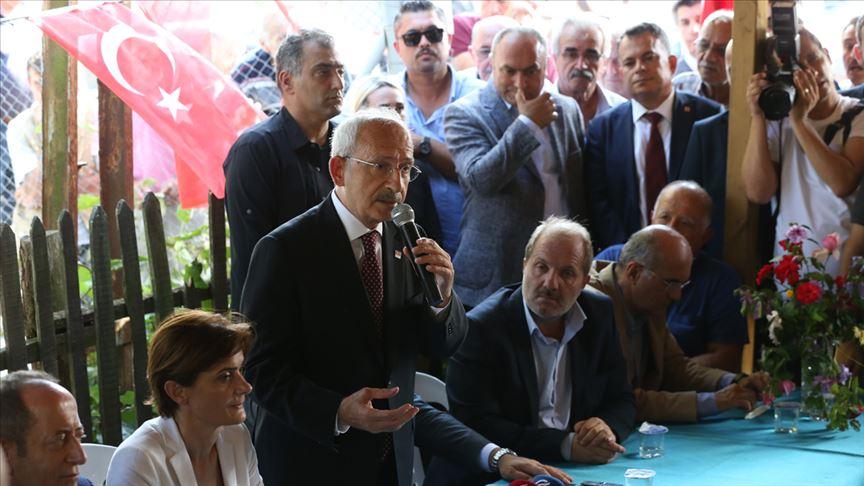 Kılıçdaroğlu ve İmamoğlu Şile'deydi...