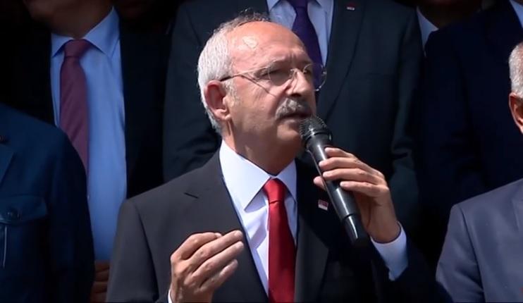Kılıçdaroğlu Alpu'da vatandaşlara seslendi