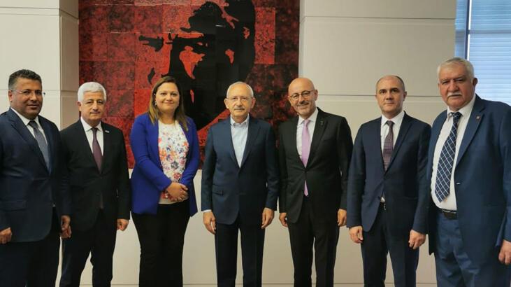 Kılıçdaroğlu madencilik sektörü STK yöneticileriyle görüştü