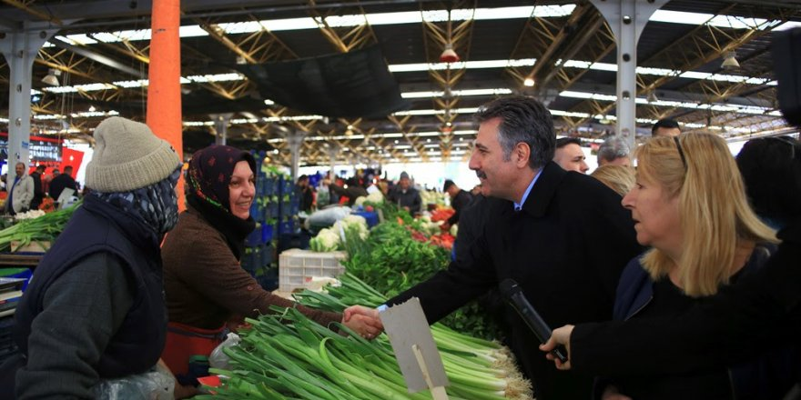 CHP'Lİ SANDAL'DAN ÖZKANLAR'A PAZARYERİ MÜJDESİ