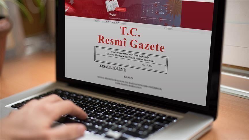Tezkere Resmi Gazete'de yayımlandı!