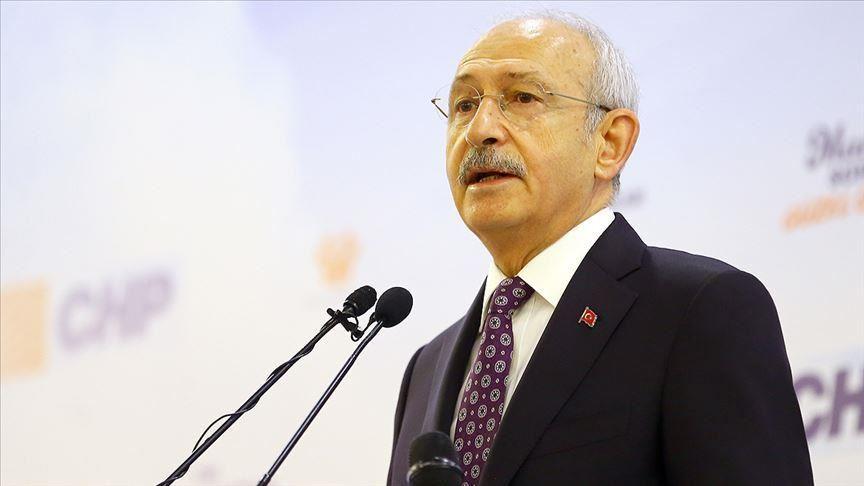 Kılıçdaroğlu'ndan şehit Ahmet Topçu için başsağlığı mesajı