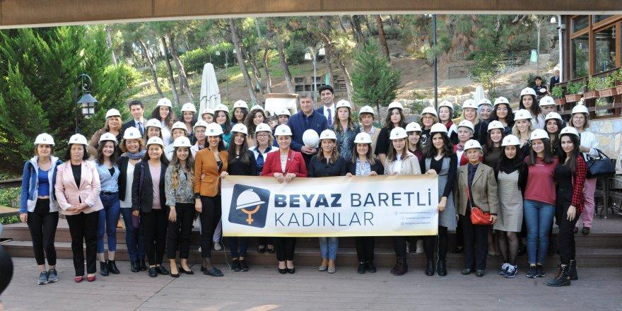 BALÇOVA'DA 'BEYAZ BARETLİ KADINLAR' PROJESİ' KONUŞULDU..