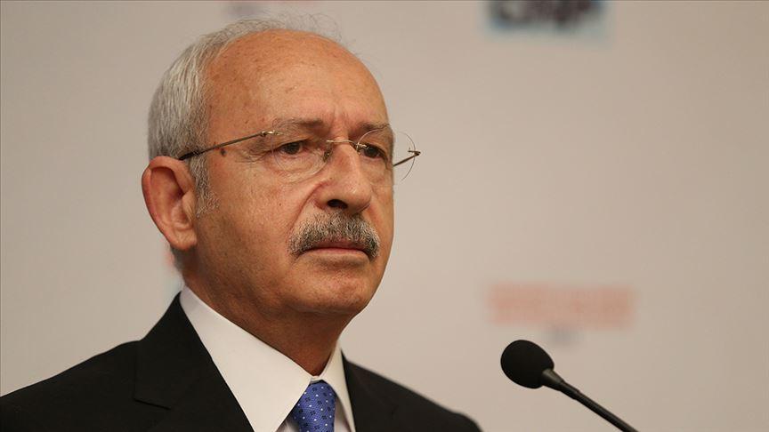 Kılıçdaroğlu: Kenter'in vefatından dolayı derin üzüntü duydum