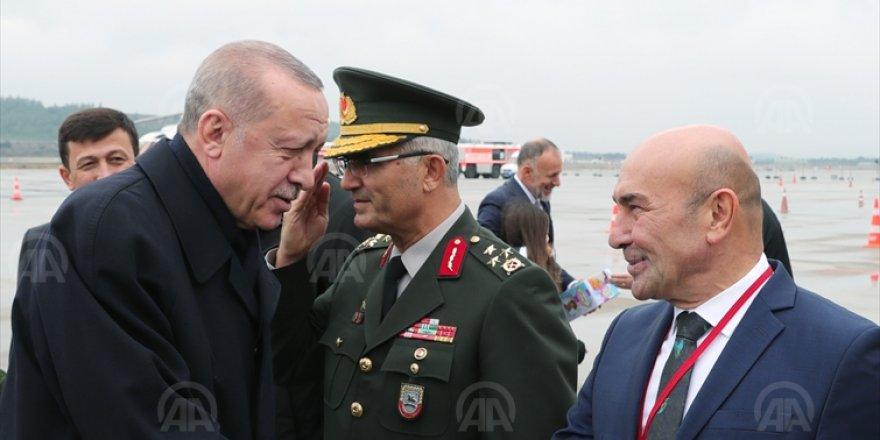 CUMHURBAŞKANI ERDOĞAN İZMİR'DE...