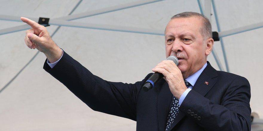 CUMHURBAŞKANI ERDOĞAN İZMİR'DE KONUŞUYOR TATLISES:'ÖLENE KADAR YANINDAYIM'
