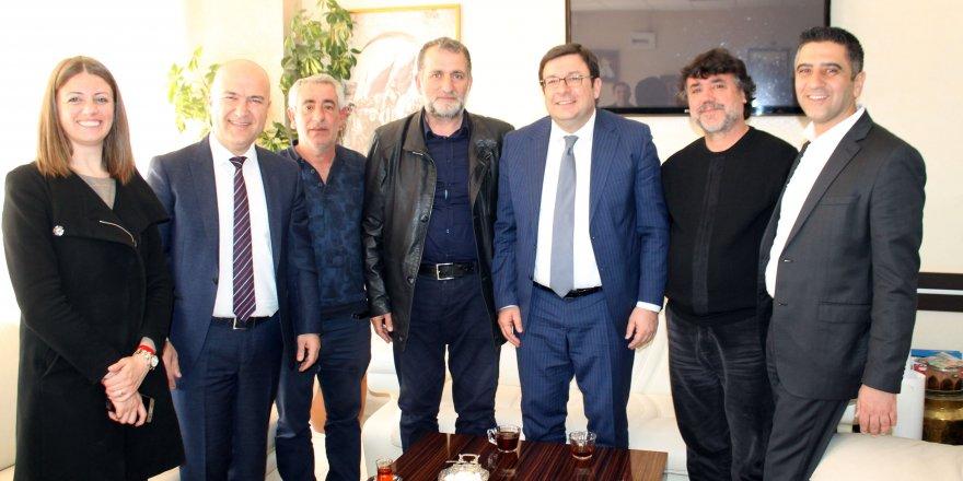 CHP MENDERES ADAYI KAYALAR'A PARTİSİNDEN DESTEK