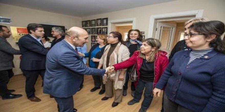 SOYER: 'URLA'YA KAYYUMU DEMOKRASİ ADINA KAZANIMA DÖNÜŞTÜREBİLİRİZ'