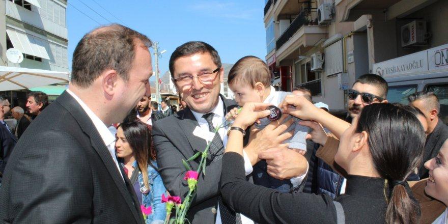 CHP'DEN ÇİĞLİ'TE TAM SAHA PRES