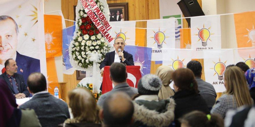 AK PARTİ İZMİR İL BAŞKANI SÜREKLİ'DEN 'YERİNDE ÇÖZÜM' TURU