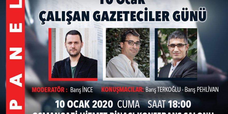 İZMİRLİ GAZETECİLERE 'BASIN ÖZGÜRLÜĞÜNÜ' İSTANBUL'DAN GETİRİLEN GAZETECİLER ANLATACAK