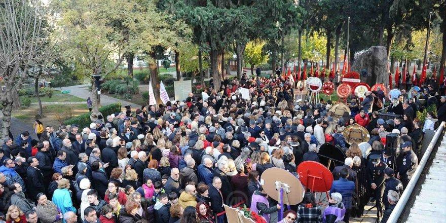 GAZİ MUSTAFA KEMAL ATATÜRK'ÜN ANNESİ ZÜBEYDE HANIM KABRİ BAŞINDA ANILDI