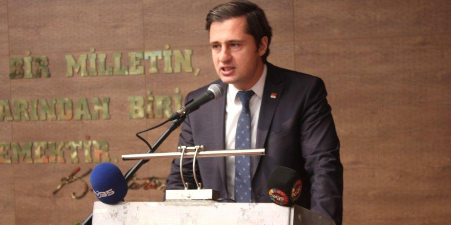 CHP İL BAŞKANI YÜCEL'DEN AK PARTİ'YE 'MENDERES ' GÖNDERMESİ