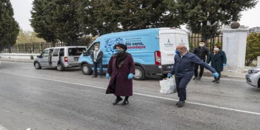 TUNÇ SOYER'DEN EVLERE PAKET SERVİS