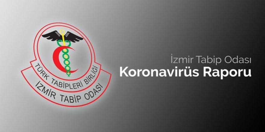 İZMİR TABİP ODASI'NDAN KORONAVİRÜS RAPORU'