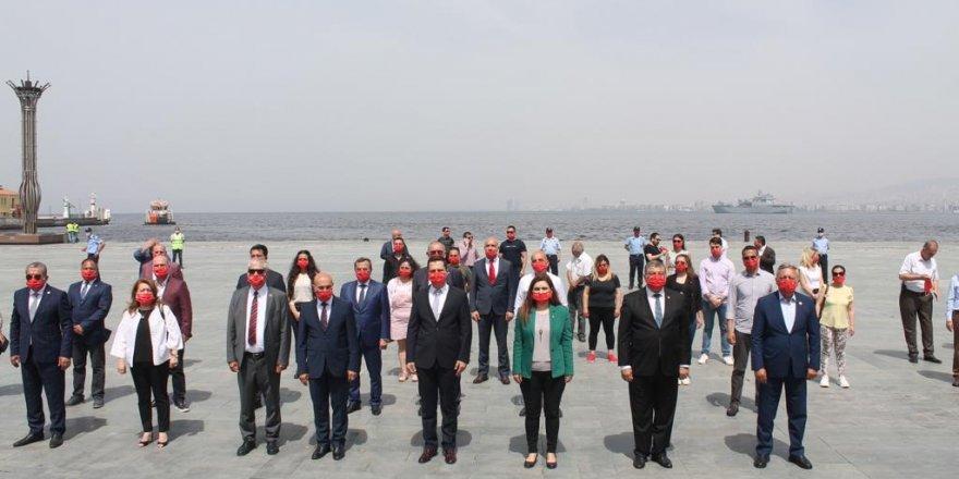 CHP İZMİR 19 MAYIS'TA ALANDAYDI..İŞTE VERİLEN MESAJLAR