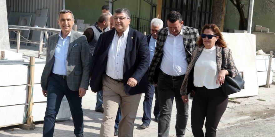CHP'Lİ SINDIR 'İŞÇİNİN, EMEKÇİNİN GÜVENCESİ CHP'DİR'