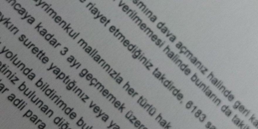 SAĞLI SOLLU VERGİ KISKACI..ÇİĞLİ BELEDİYESİ'NDEN VATANDAŞA: 'HAPSE GİRERSİNİZ, HACİZ YAPARIZ'..