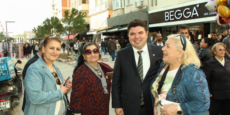 CHP'NİN BUCA ADAYI KILIÇ'TAN 'KADIN AÇILIMI'