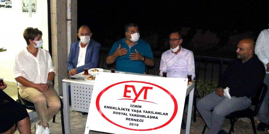 CHP İZMİR MİLLETVEKİLİ SINDIR:' EMEKLİLİK HAKTIR GASP EDİLEMEZ'