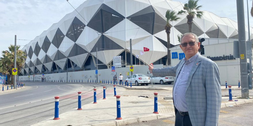 CHP'Lİ ATİLA SERTEL ALSANCAK STADI'NI SORDU