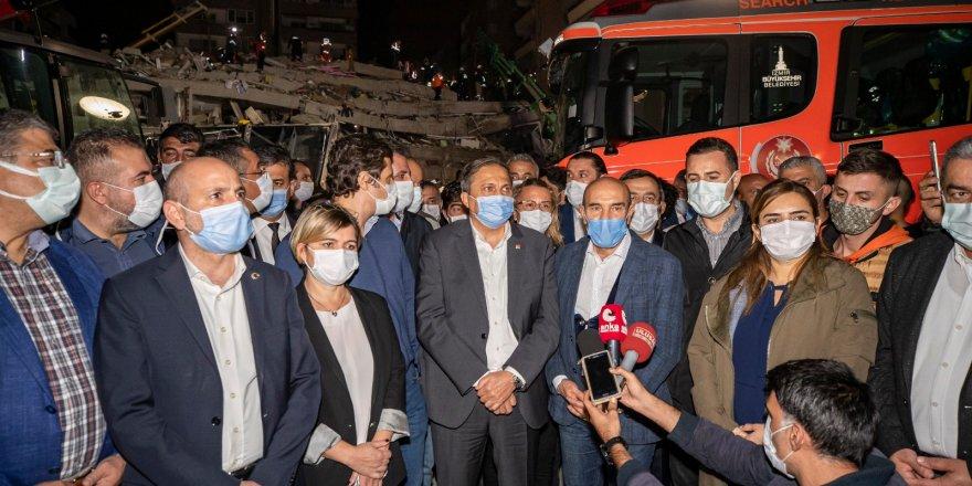 CHP GENEL BAŞKAN YARDIMCISI TORUN: 'DEPREM DEĞİL BİNA ÖLDÜRÜYOR'