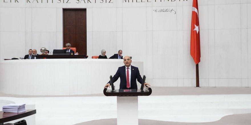 CHP'Lİ POLAT'TAN BAKAN TURHAN'A KAMULAŞTIRMA SORULARI