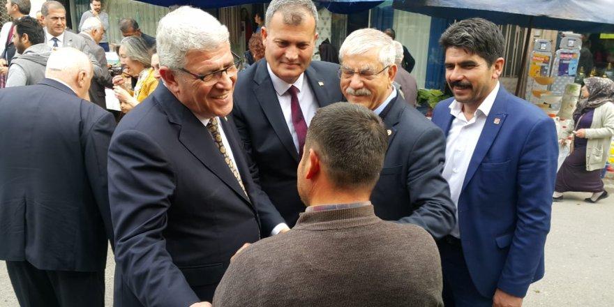 CHP'Lİ BEKO:' 30 İLÇEMİZE DE BAHAR ÇOKTAN GELDİ'