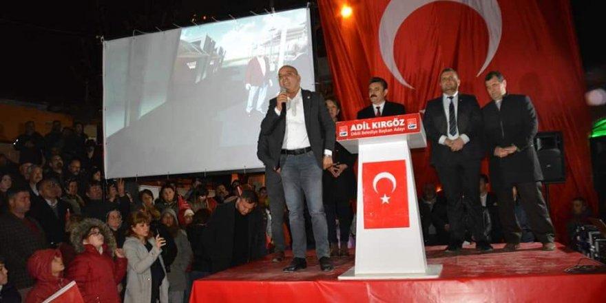 """CHP'Lİ POLAT: """"31 MART'TA MÜHRÜMÜZÜ AYDINLIĞA BASACAĞIZ"""""""
