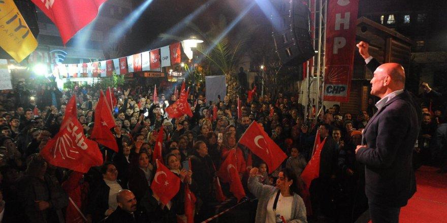 """SOYER:""""SEFERİHİSAR'DA YAKTIĞIMIZ ATEŞ, TÜRKİYE'Yİ SARACAK"""""""