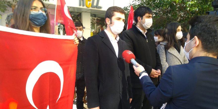 VATAN PARTİSİ İZMİR'DEN EVLAT NÖBETİNE DESTEK
