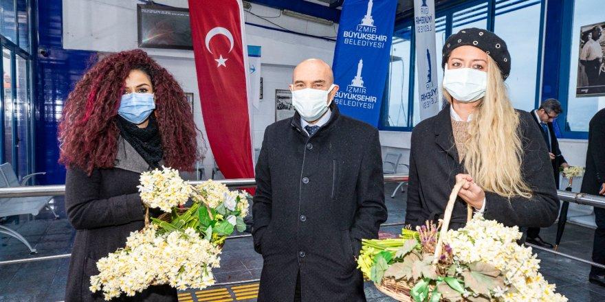 YENİLENEN PASAPORT İSKELESİNE 'NERGİS'Lİ AÇILIŞ
