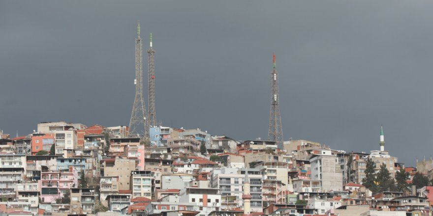 BAYRAKLI'DAKİ TELEVİZYON VERİCİLERİ KALDIRILIYOR