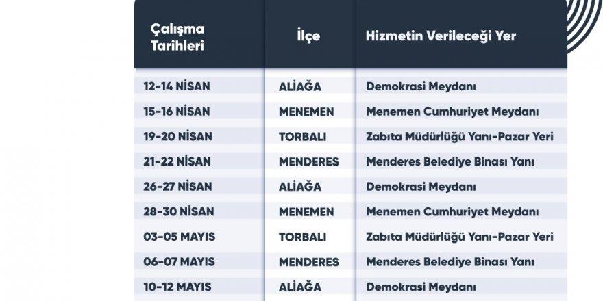 İZMİRİM KART İÇİN KONAK'A GELMEYE GEREK KALMADI