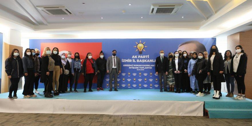 AK PARTİ İZMİR'DE 'ROMAN' SEFERBERLİĞİ
