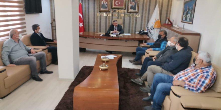 ADALET MAHALLESİ SAKİNLERİNDEN AK PARTİ'YE 'O TRAFOYU İSTEMİYORUZ' ZİYARETİ