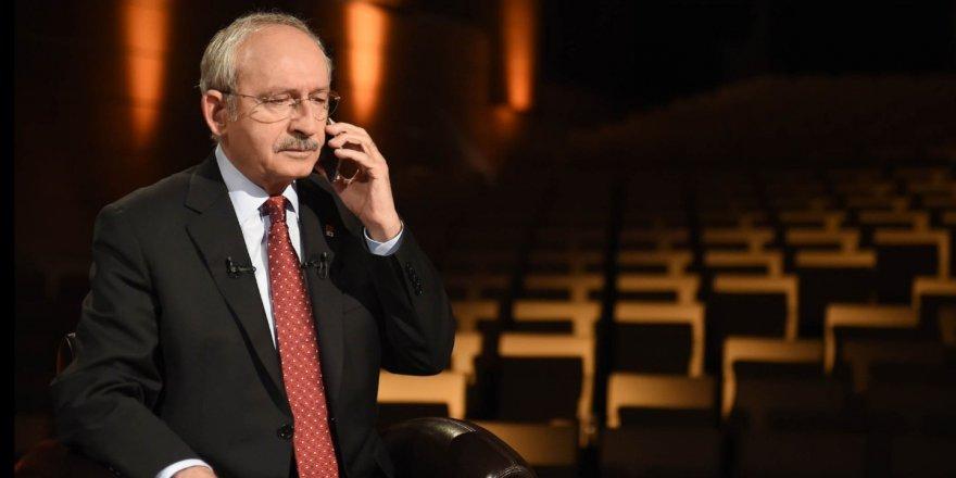 KILIÇDAROĞLU'NDAN İZMİR'E BAŞSAĞLIĞI TELEFONU