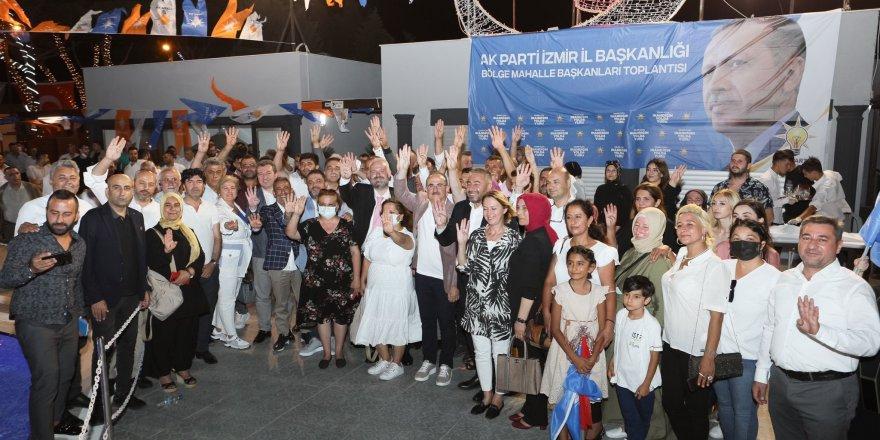 AK PARTİ İZMİR İL BAŞKANI KEREM ALİ SÜREKLİ:'LAF DEĞİL İŞ YAPIYORUZ'