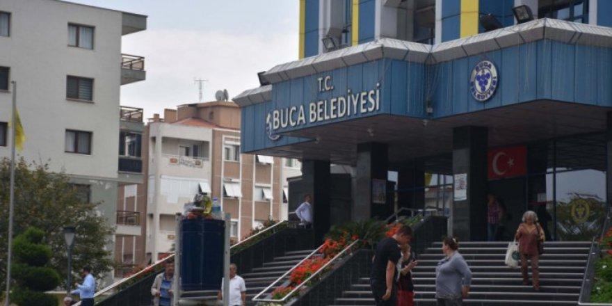POLİS BUCA BELEDİYESİ'NİN İHALELERİNİ BASTI..'ARKADAŞLARIMA GÜVENİYORUM'
