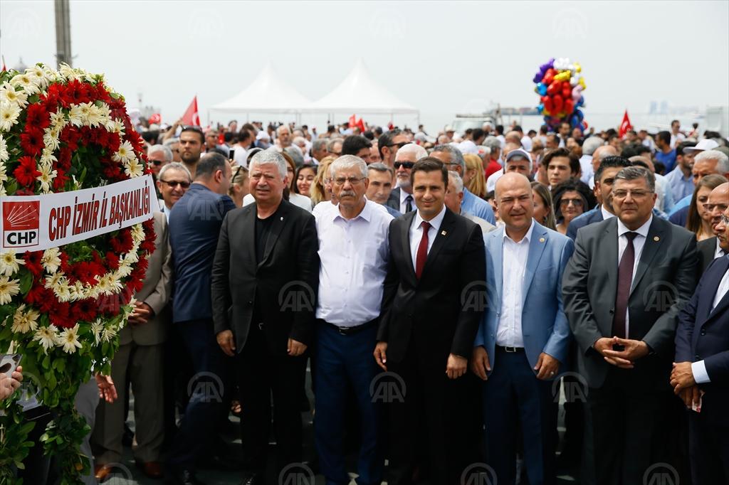 CHP İZMİR'DEN 19 MAYIS YÜRÜYÜŞÜ